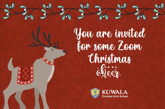 You are invited to some Zoom Christmas cheer sponsored by Kuwala.