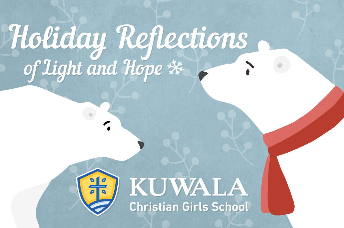 Image of Kuwala Christmas card wishing everyone a year filled with light and hope