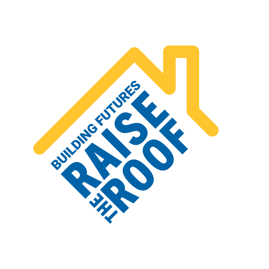 Image of Raise the Roof Logo graphic