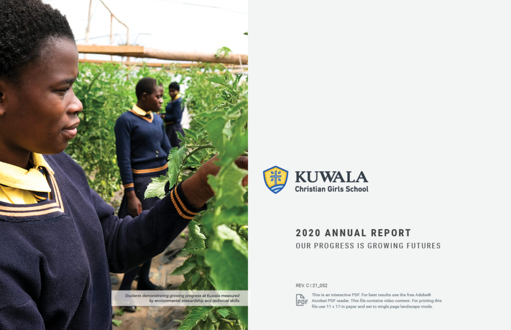 Image of Annual Report Cover, Kuwala 2020