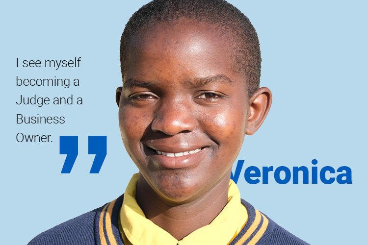 Image of Kuwala student, Veronica.