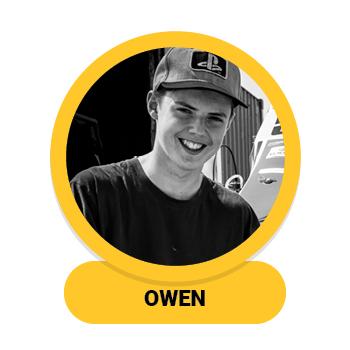 Headshot of Owen Boonstra