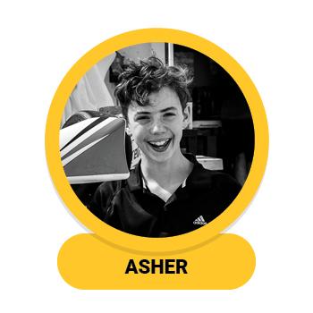 Headshot of Asher Boonstra