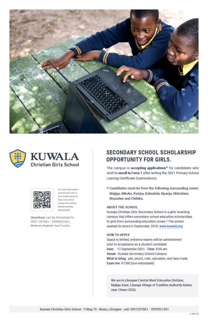 Kuwala student recruitment poster